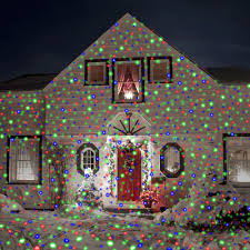christmas projection lights the christmas lights hammacher schlemmer