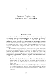 4 systems engineering functions and guidelines pre milestone a