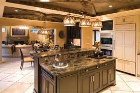 2 level kitchen island european home with striking facade american homes summer