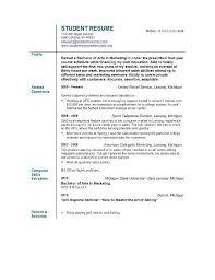 college student resume career objective resume career objective sles musiccityspiritsandcocktail com