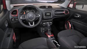 jeep sport interior 2015 jeep renegade interior design youtube