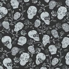 imagenes blancas en fondo negro papel pintado calaveras y rosas blancas grises brillo fondo negro