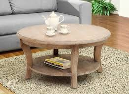 casual elements kensington round coffee table with magazine rack