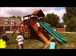 Backyard Adventure Playset by Swing Sets And Playsets By Backyard Adventures In Tennessee Youtube