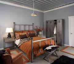 gray color schemes bedroom contemporary with light gray