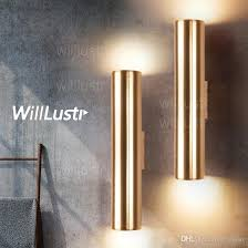 Led Wall Sconce 2018 Modern Led Wall L Aluminum Wall Sconce Metal Lighting