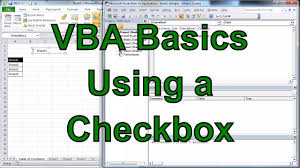 excel vba using a check box to hide a sheet and some rows youtube