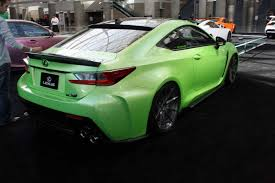 lexus green gallery lexus brings army of modified cars to the la auto show