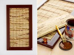 Diy Kitchen Cabinet Makeover Bamboo Mat Remove Panel And Glue