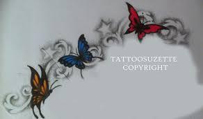 butterfly design by tattoosuzette on deviantart