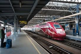 Thalys Comfort 1 Amsterdam To Paris By Thalys Train Netherlands To France Railcc