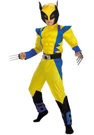 x men wolverine kids costume superhero fancy dress escapade uk