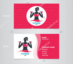Fitness Business Card Template Fitness Business Card V1 By Totopc Graphicriver Fitness Business