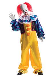 scary clown costumes grand heritage pennywise costume