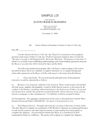 letter of intent to purchase business template free christmas