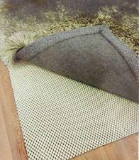 How Big Should A Rug Pad Be Non Slip Rug Pads Ebay