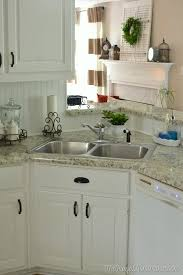 kitchen cabinets with cup pulls how to re paint your yucky white cabinets