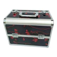bridal makeup box bridal makeup vanity box at rs 2100 vanity cases id