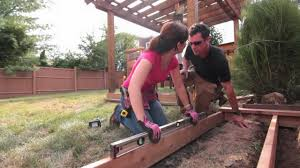 How To Build A Backyard Grill by Funfix Build A Wood Platform For Your Grill Youtube