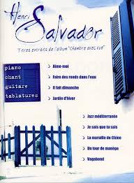 chambre avec vue henri salvador henri salvador chambre avec vue partitions de chansons partitions