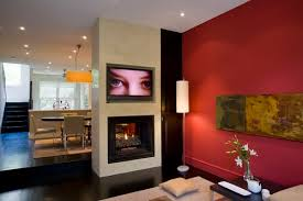 Best Red Living Rooms Interior Design Ideas - Red living room design ideas