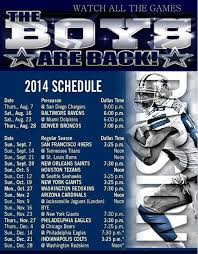 Nfl Schedule 2014 Thanksgiving Nfl Schedule 2012 13 Dallas Cowboys Schedule The Boys Are Back