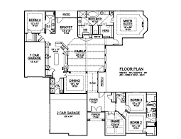 southwest floor plans bayfield 6354 4 bedrooms and 3 baths the house designers