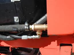 case drain install