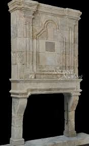 stone fireplaces pictures a unique collection of antique stone fireplace mantles by ancient