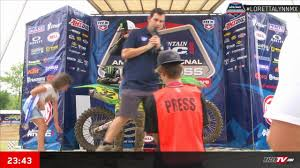 ama motocross live timing loretta lynn amateur motocross championship day 1 racertv