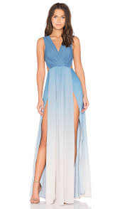 ombre maxi dress the jetset diaries x revolve caribbean ombre maxi dress in blue