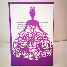 Invitation Card Dimensions Online Get Cheap Birthday Invitation Card Size Aliexpress Com