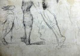michelangelo u0027s hidden drawings u2013 florence italy atlas obscura