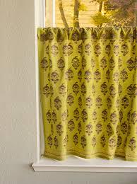 Stylish Kitchen Curtains by Decorative Asian Green Kitchen Curtain Stylish Ambiance Is All