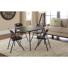 Folding Dining Table And Chairs Set Cosco Folding Tables U0026 Chairs Kitchen U0026 Dining Room Furniture