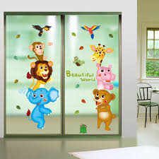 Livingroom Cartoon Baby Animals Cartoons Promotion Shop For Promotional Baby Animals