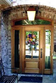 front doors with side lights solid wood front doors wood front door with sidelights doors