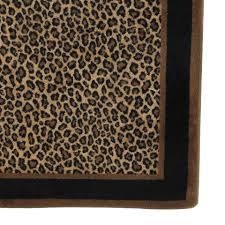 Leopard Runner Rug Home Decor Amusing Leopard Print Rug Rugs Roselawnlutheran Rug