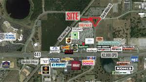 Eustis Florida Map by Eustis Village Land 441 U0026 David Walker Drive Eustis Fl 32726