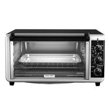 Oven And Toaster Black Decker 9 Slice Silver Toaster Oven To4314ssd The Home Depot