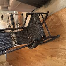 Antique Nursing Sewing Rocker Small Star Pattern Seat Antique And Vintage Rocking Chairs Collectors Weekly