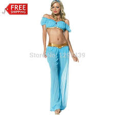 Belly Dancer Halloween Costume Wholesale Halloween Costumes Women Princess Jasmine
