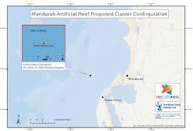 Florida Artificial Reefs Map by Mandurah Ilovefishing