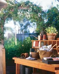 Redwood Potting Bench Build A Potting Bench Vegetable Gardener