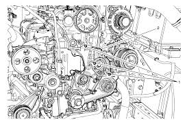 repair instructions on vehicle engine front cover replacement