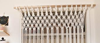 make your own macramé curtain ropeshop ca