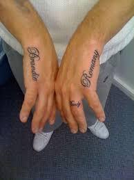 interesting name tattoos and brilliant name tattoo ideas