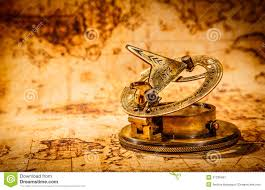 Ancient Map Ancient Map Of The World Compass Stock Photo Image 5176930