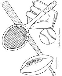 free printable sports coloring pages coloring