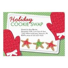 christmas party cookie exchange invitations food fox recipes